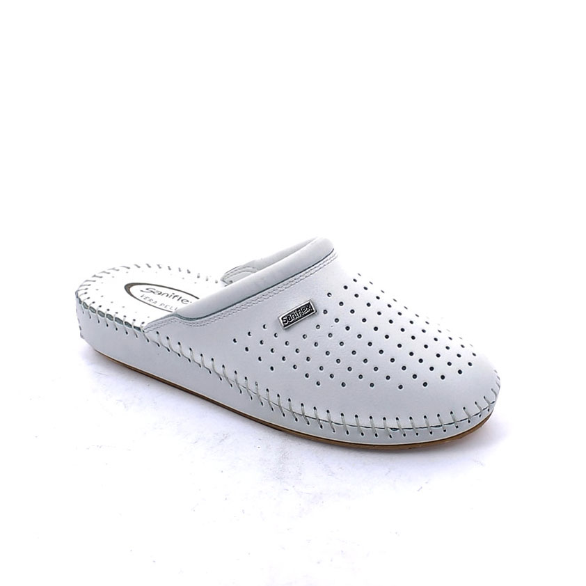 Hand sewn Slipper for women, with Cow leather Upper