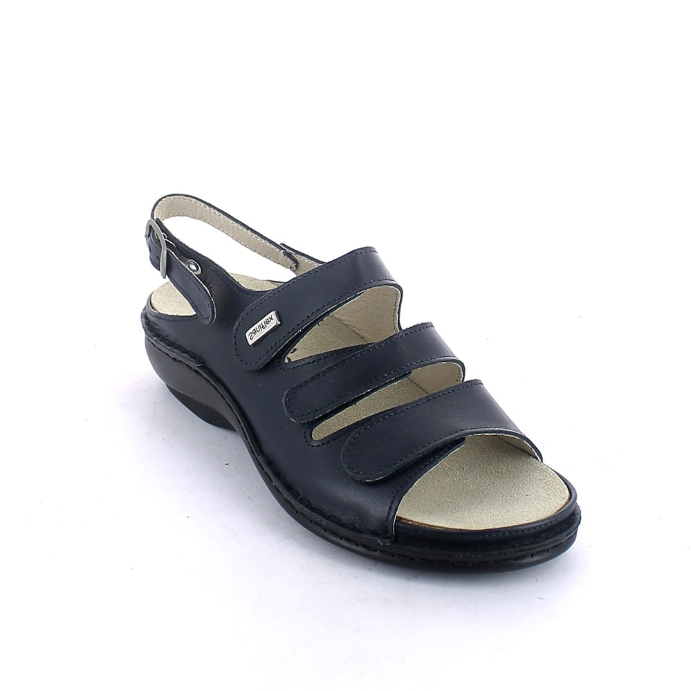 Summer sandal for women with removable insole