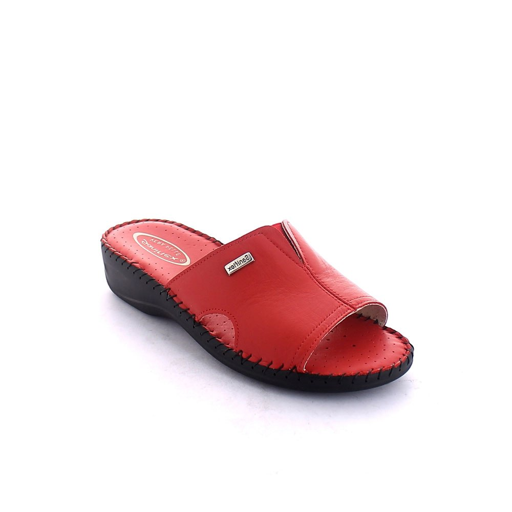 Hand sewn Summer slipper for women