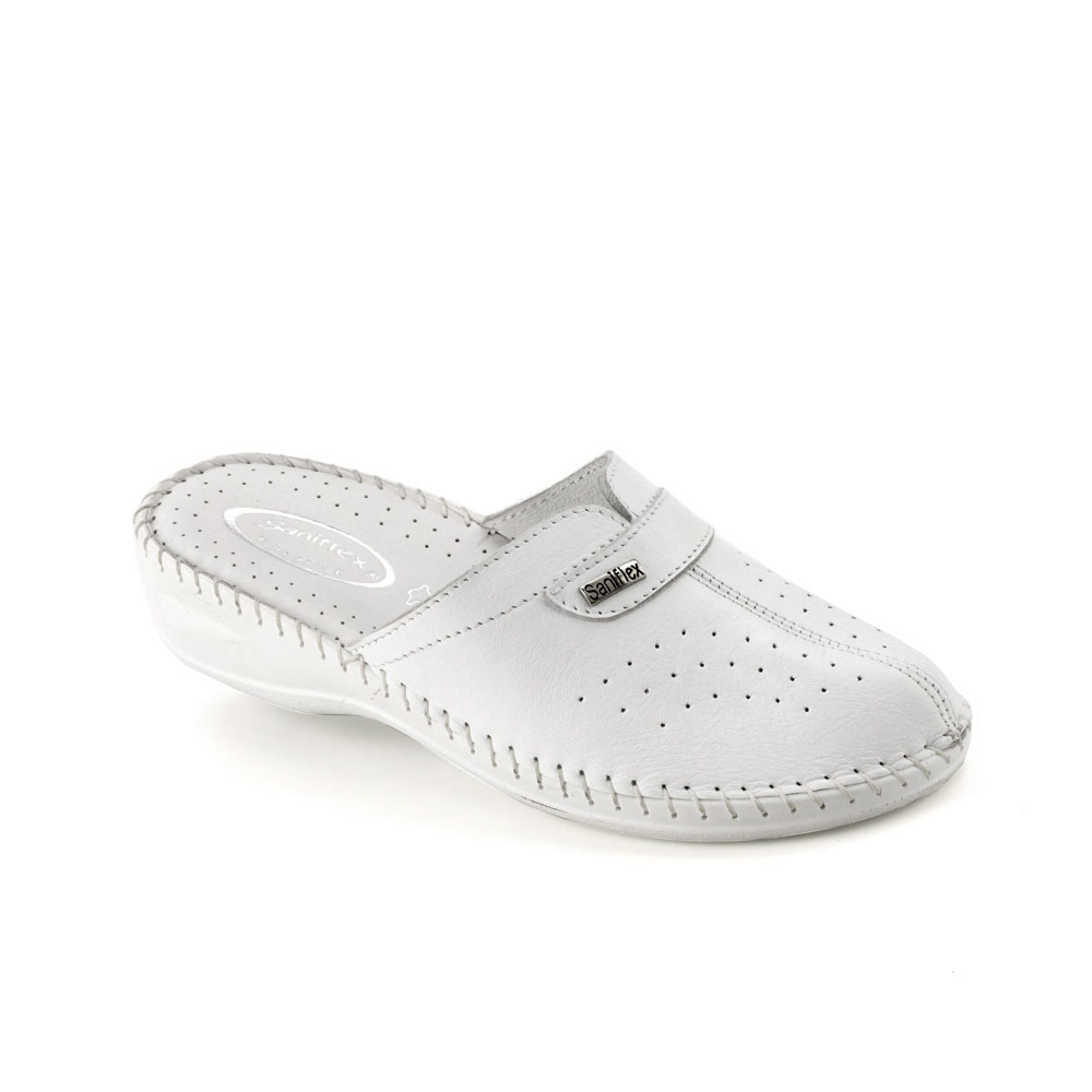 Hand sewn Slipper for women, with Calf leather Upper