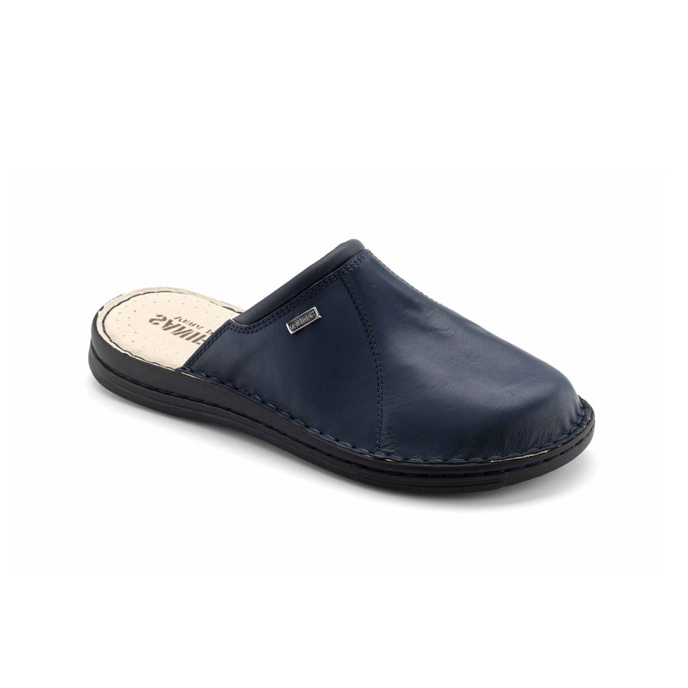 Hand sewn Slipper for men, with Calf leather Upper