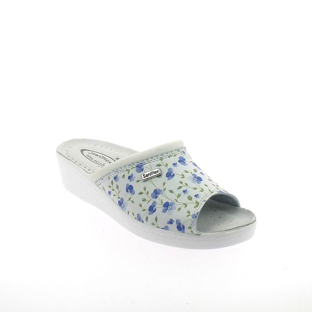 """Floral "" line Slipper for women with open toe upper and padded insole."
