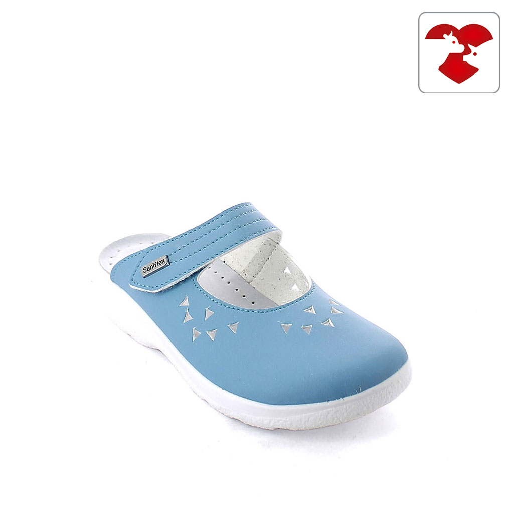 Medical slipper for women with padded insole