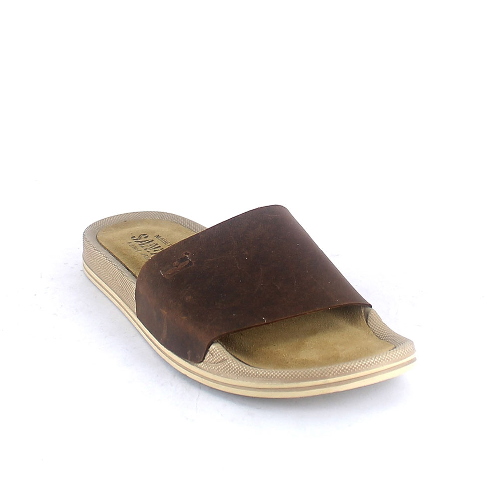Sea slipper for man with padded insole