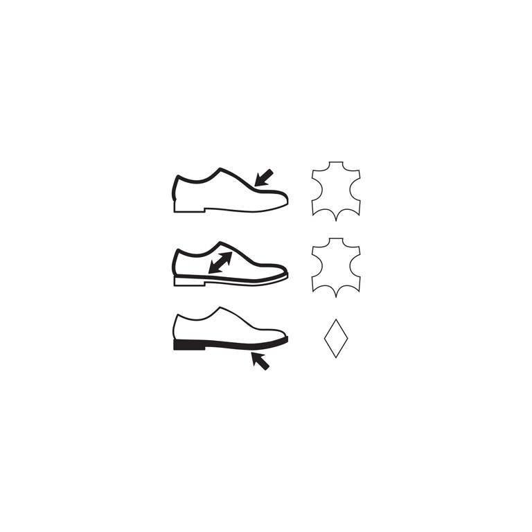 Sottopiede in vera pelle imbottito che assicura benessere al piede per un  uso prolungato della calzatura. Bordino con imbottitura soffice per  garantire il ... 9727dd90df2