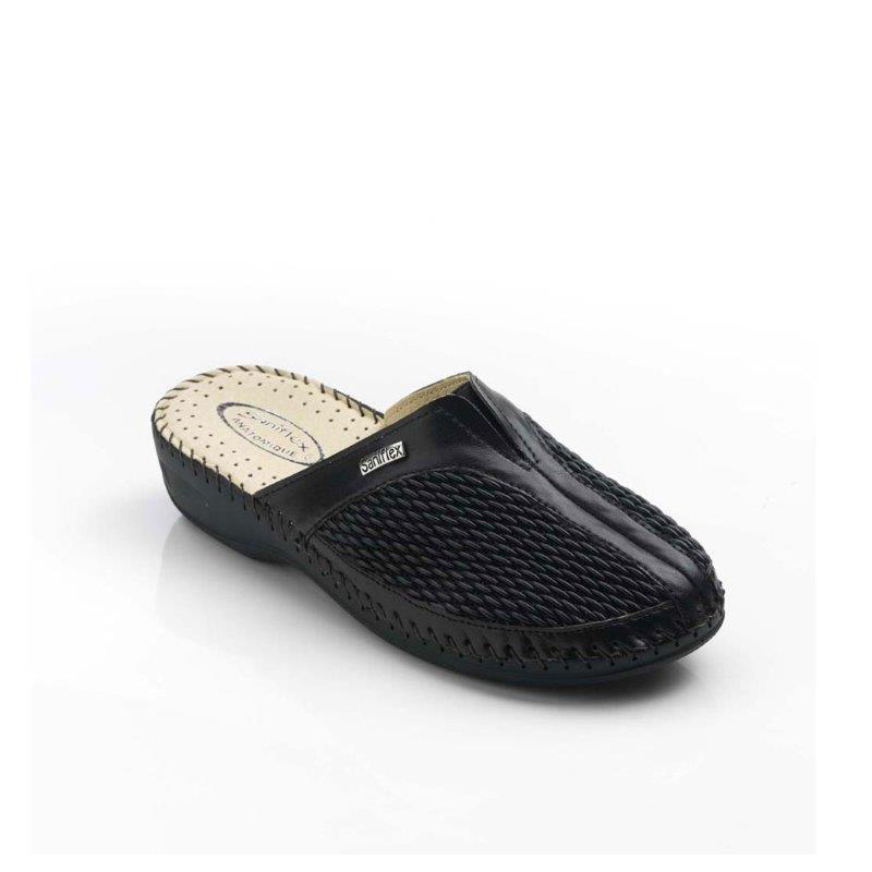 Hand sewn Slipper for women, with Stretch Upper