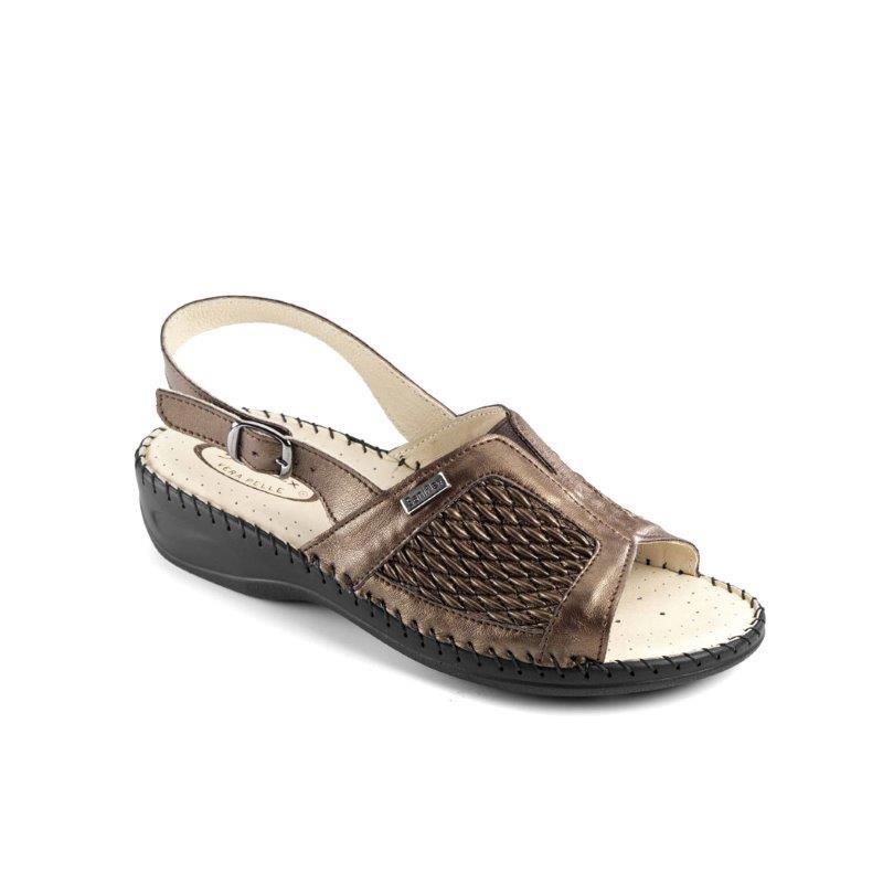 Sandalo Cucito A Elasticizzata Tomaia Da DonnaCon Mano LRcjSA534q