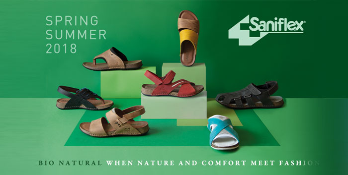 Natural: the new line of hand-sewn mules and sandals