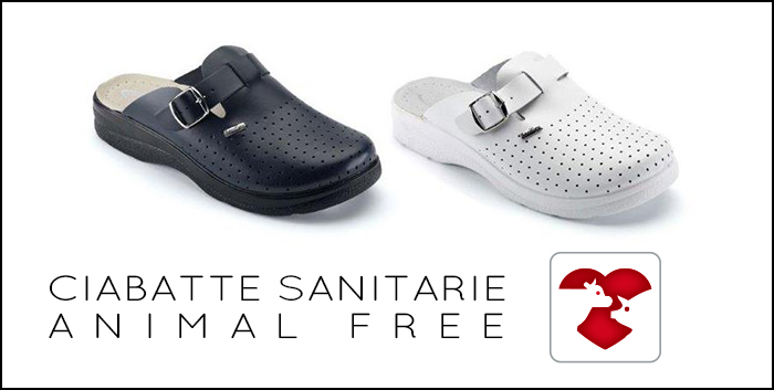 "Our line of ""animal free"" eco-leather medical mules"