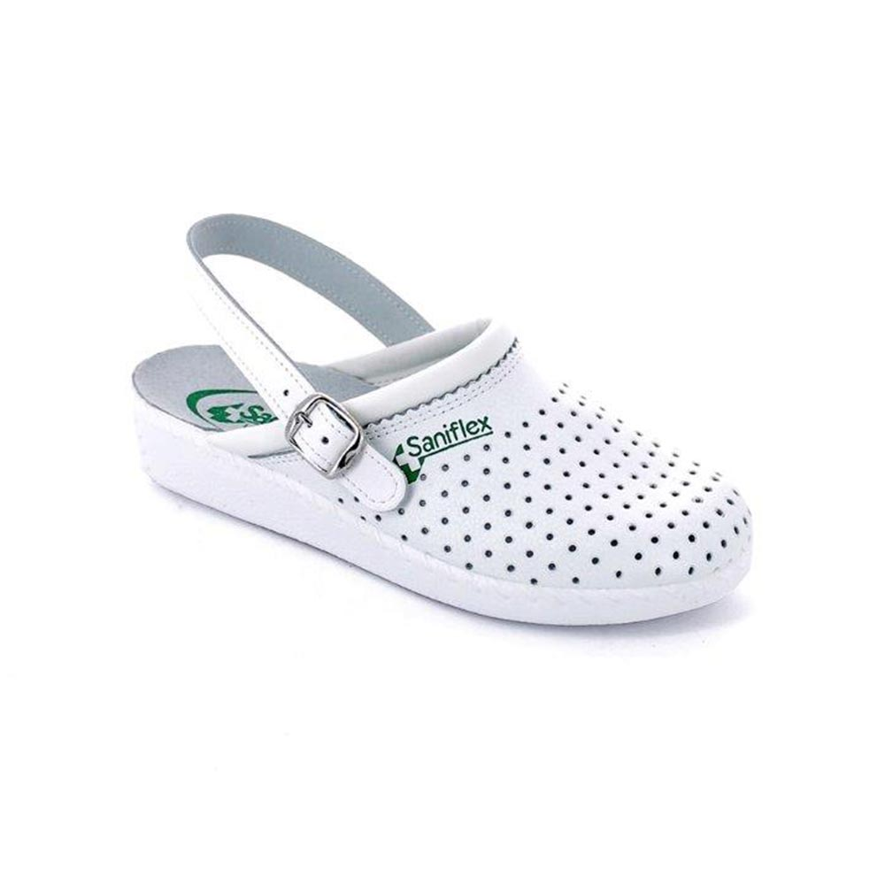 Leather medical slipper for women  made in Italy
